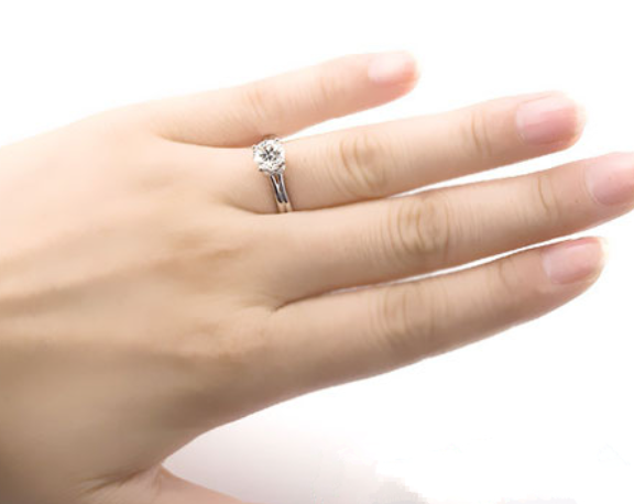The Ring Finger Stands For Lover And Family Ties. If The Ring Finger Leans  To The Middle Finger, It Indicates That The Person Is Very Responsible To  The ...