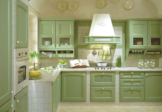 Kitchen Cabinet Colors feng shui colors for kitchen cabinets and floor