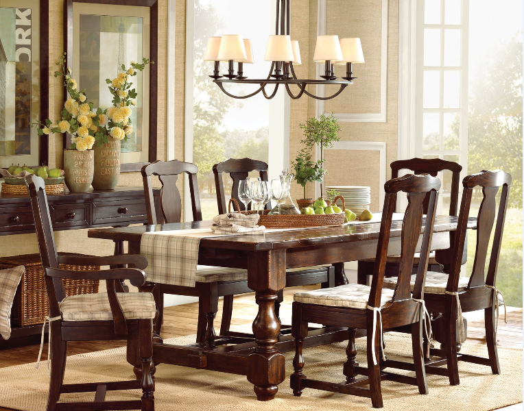 the dining room is an eating place any dirty things into the dining room will pollute the food thus leading to all kinds of discomforts or diseases - Colorful Dining Room Tables